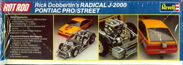 Pontiac Pro/street Radical J-2000 Rmx-7110