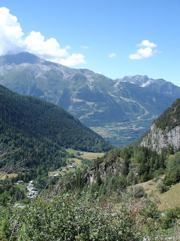 Sainte-Foy - Col du Mont - Col de Montséti Dsc01310
