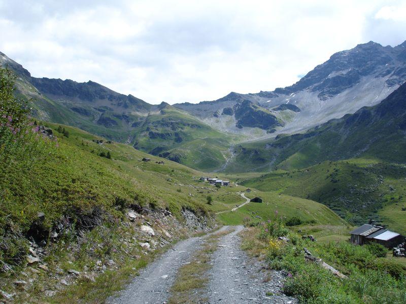 Sainte-Foy - Col du Mont - Col de Montséti Dsc01311