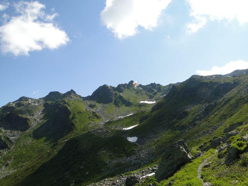 La Rosière / Le lac du Retour par le Vaz Dsc02221