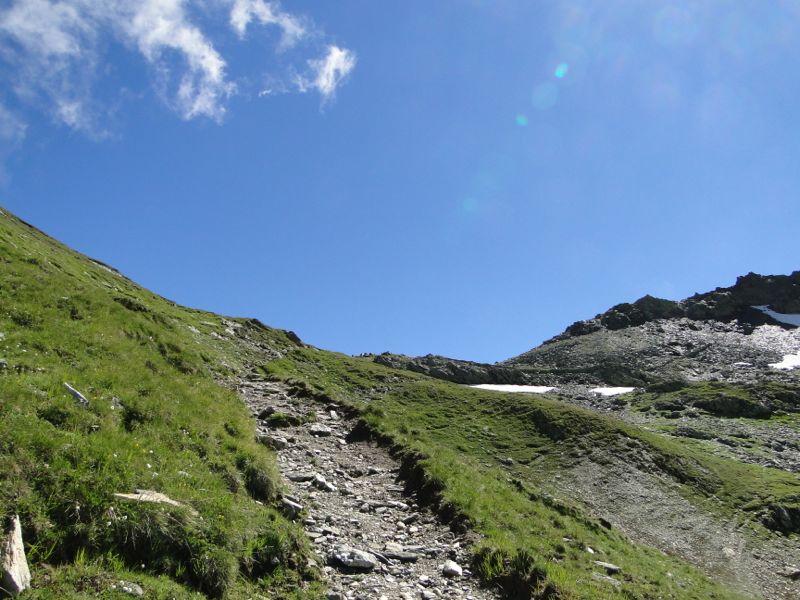 Sainte-Foy - Col du Mont - Col de Montséti Dsc02462