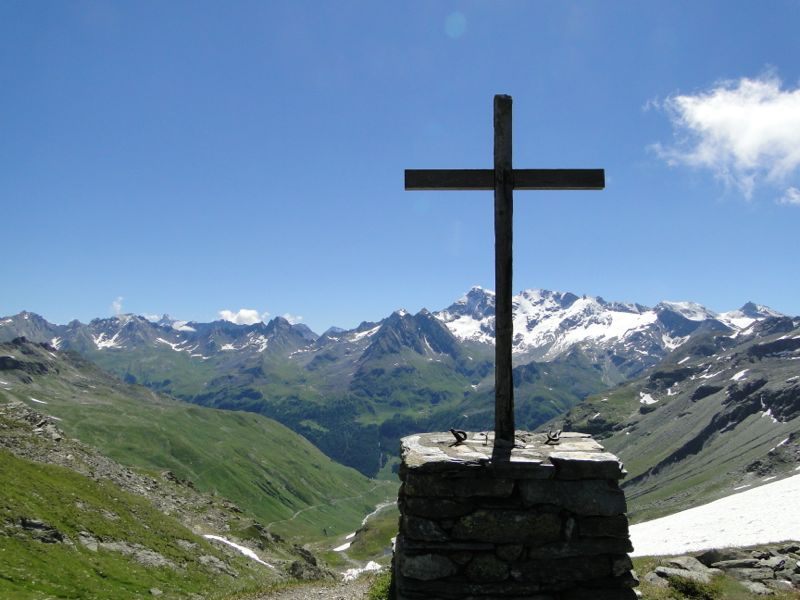 Sainte-Foy - Col du Mont - Col de Montséti Dsc02463