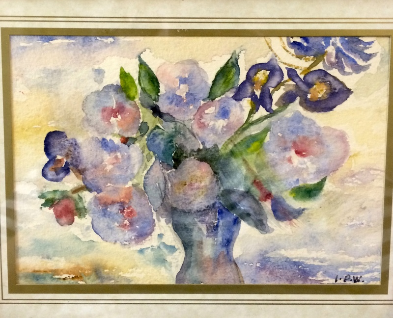 Watercolour flowers, IPW 93 Image311