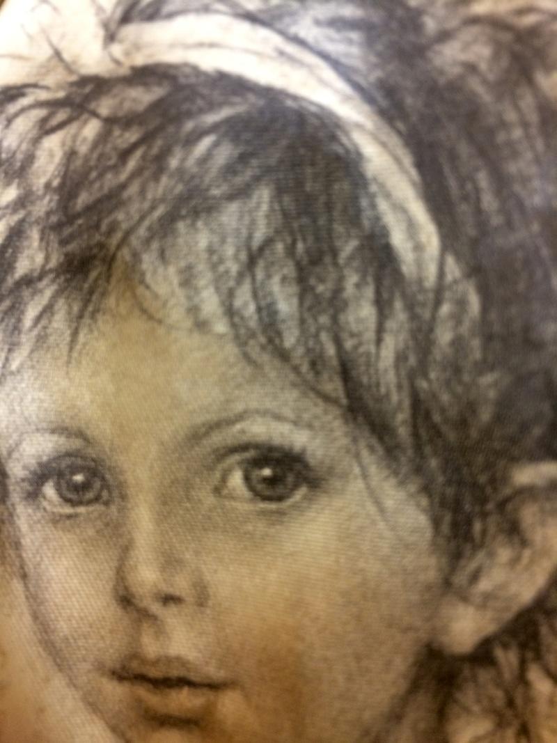 Italian portrait on silk? Image325