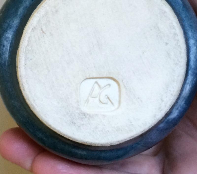 Handbuilt mug, AG mark Image489