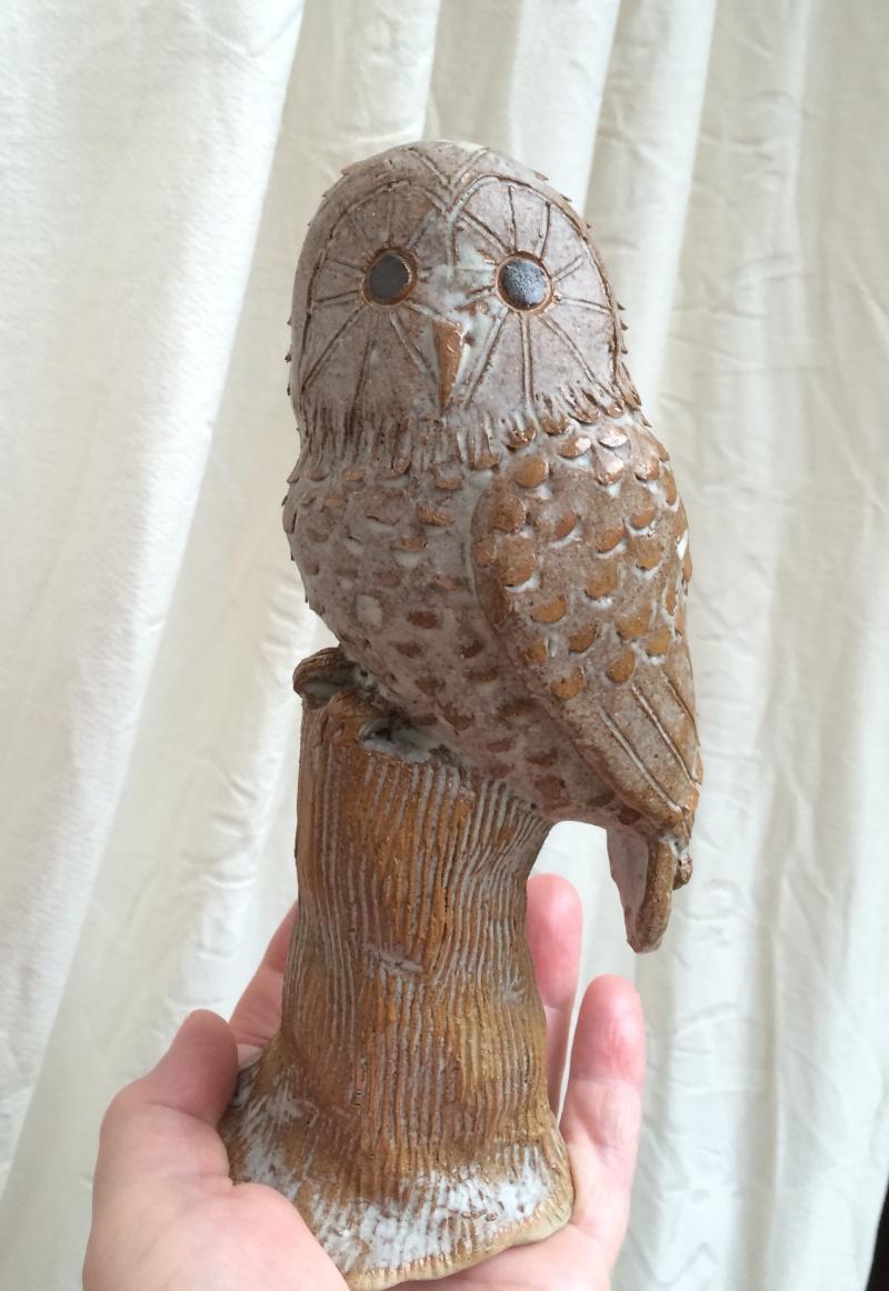 Unknown owl figurine Image67