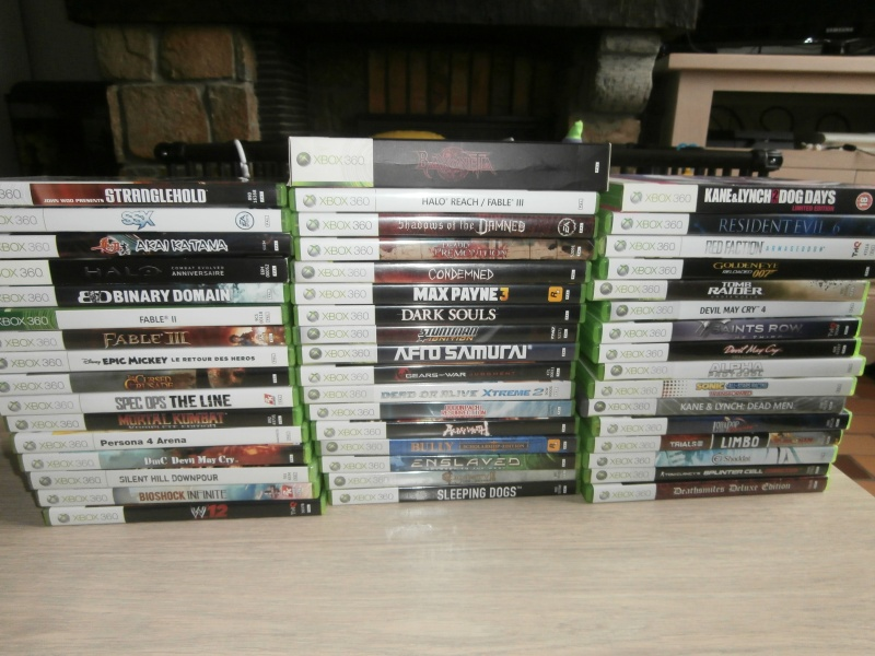 Collection compléte XBOX 360 P6030011