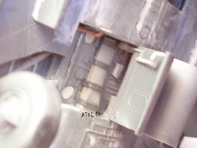 North American F100-D  ESCI 1/48 P1010133