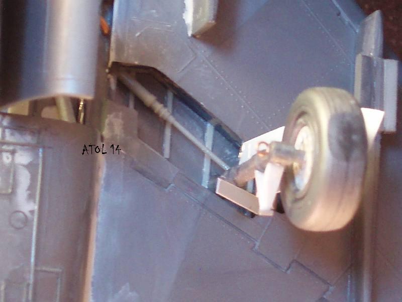 North American F100-D  ESCI 1/48 P1010134