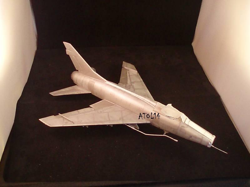 North American F100-D  ESCI 1/48 P1010153
