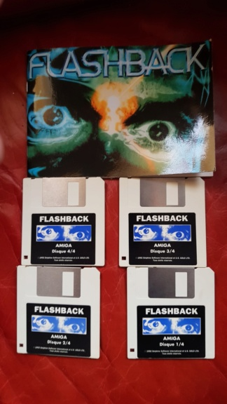 le jeu  FLASHBACK   (cdi,md ,3do,sega cd ,jaguar ,next gen ) 20201125