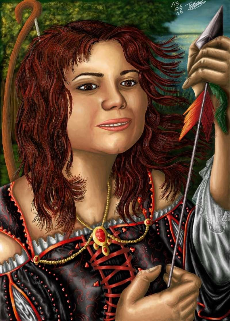 La Caverne de Jeannie ~ peintures, dessins, infographies Julia210
