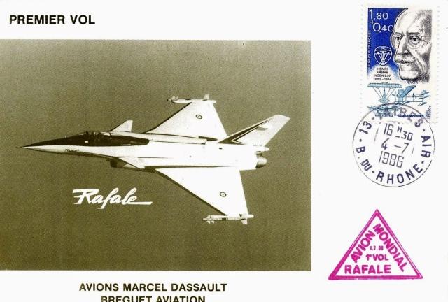 [Aviation - Histoire] 30ème anniversaire du 1er vol du Rafale - 4 juillet 1986 1986_010