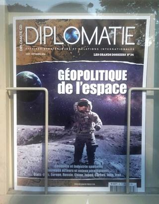 [Presse] Diplomatie GD - Géopolitique de l'espace / août-septembre 2016 2016-010