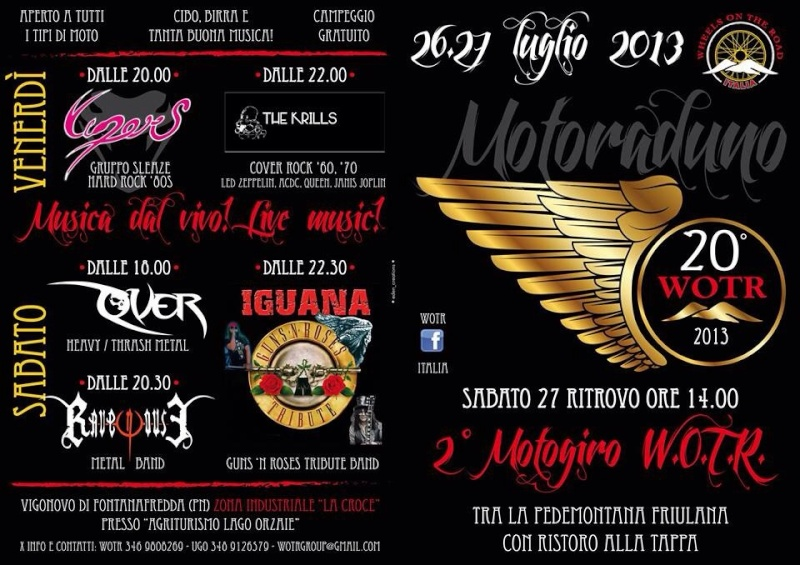 Sabato 27 luglio Motogiro a Udine Motogi12