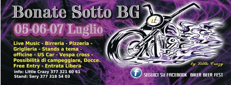 5-6-7 lug - Bikers Beer Fest (BG) Raduno17