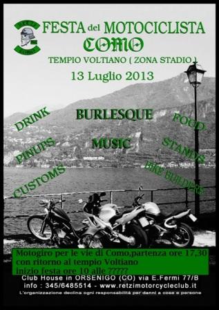 Festa del Motociclista 13 luglio 2013 Como Retzi_11