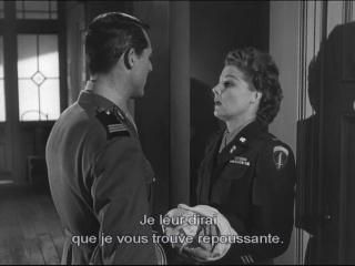 Allez coucher ailleurs ! (I Was a male war bride) de Howard Hawks 1949 Couche16