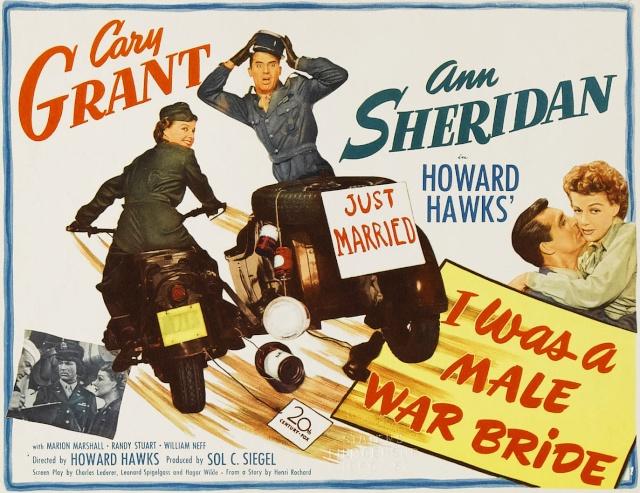 Allez coucher ailleurs ! (I Was a male war bride) de Howard Hawks 1949 Film-a10