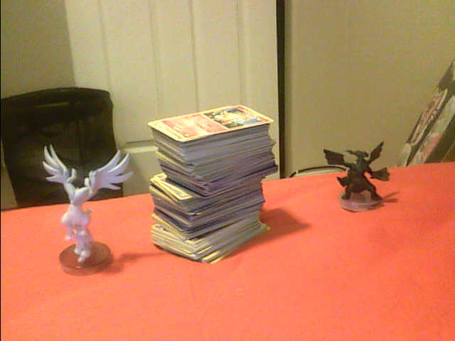 I now have 300+ Pokemon cards! (Excluding Trainers and Items) Yourph10