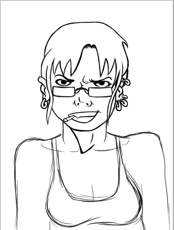 """Self portrait (mais en bien arrangé hein - -"""") Captur11"""
