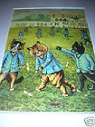Louis Wain...et ses célèbres chats ! 14011