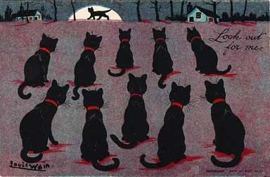 Louis Wain...et ses célèbres chats ! 18001910