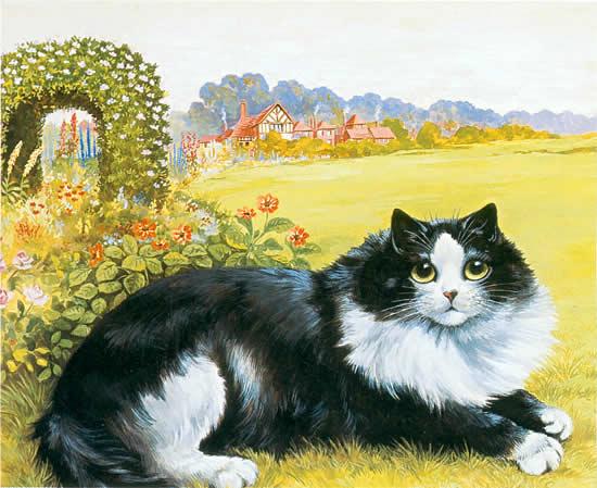 Louis Wain...et ses célèbres chats ! 18b77110
