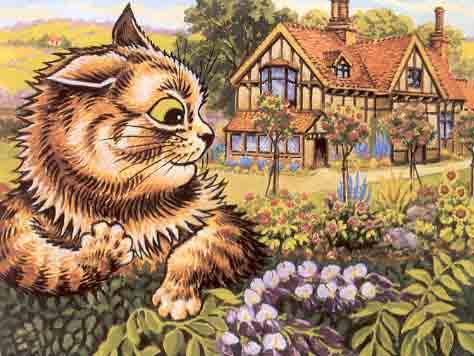 Louis Wain...et ses célèbres chats ! 21822310