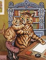 Louis Wain...et ses célèbres chats ! 22290610