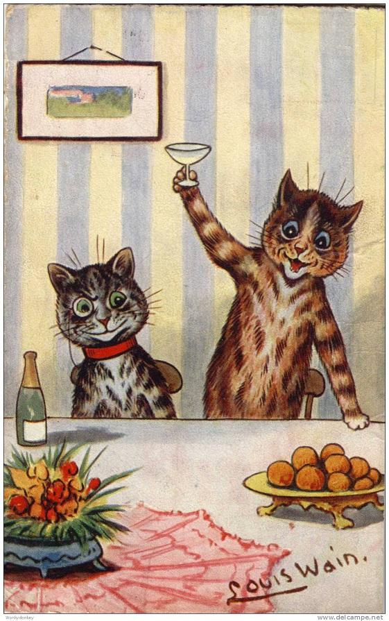 Louis Wain...et ses célèbres chats ! 279_0010