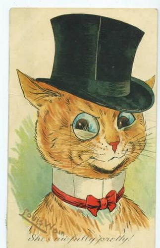 Louis Wain...et ses célèbres chats ! 28570510