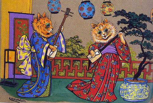 Louis Wain...et ses célèbres chats ! 28578711