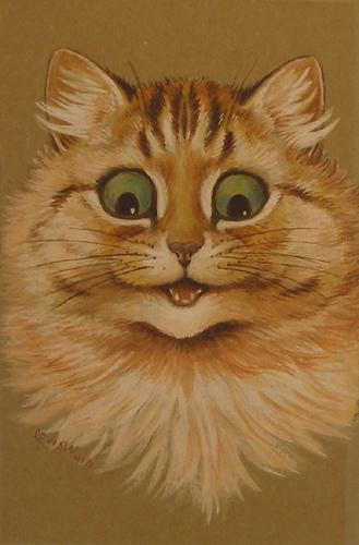 Louis Wain...et ses célèbres chats ! 29343010