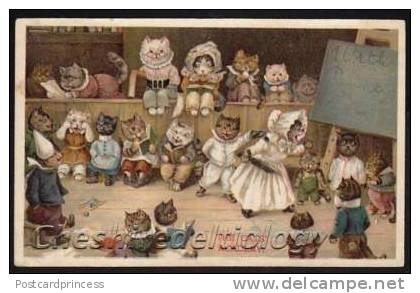 Louis Wain...et ses célèbres chats ! 297_0010