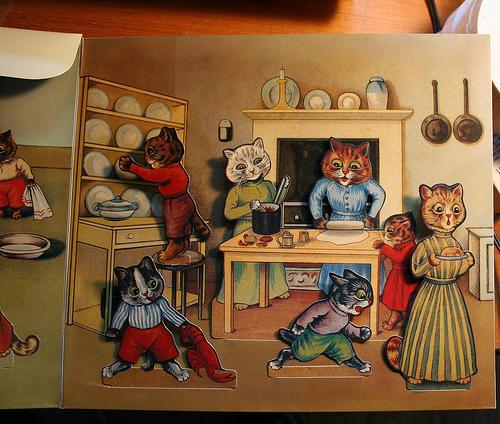 Louis Wain...et ses célèbres chats ! 34953410