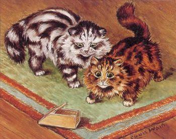 Louis Wain...et ses célèbres chats ! 40928610
