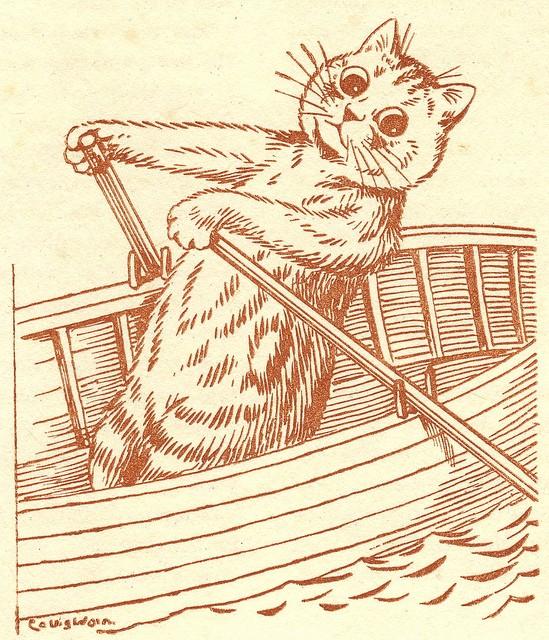 Louis Wain...et ses célèbres chats ! 56967610