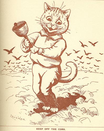 Louis Wain...et ses célèbres chats ! 63442510