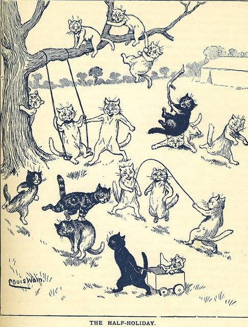 Louis Wain...et ses célèbres chats ! 63442511