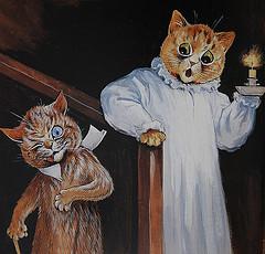 Louis Wain...et ses célèbres chats ! 69703710