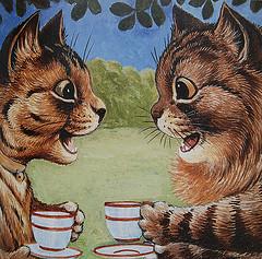 Louis Wain...et ses célèbres chats ! 69703810