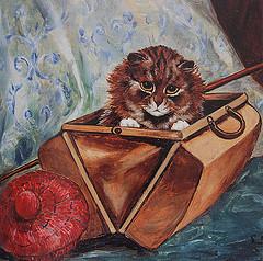Louis Wain...et ses célèbres chats ! 69703811