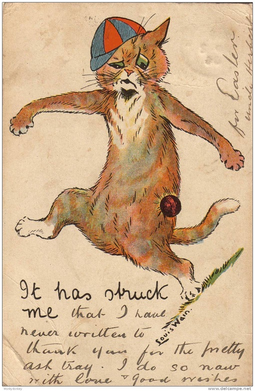 Louis Wain...et ses célèbres chats ! 837_0010