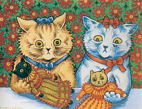 Louis Wain...et ses célèbres chats ! 93f0d410