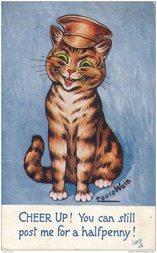 Louis Wain...et ses célèbres chats ! 973_0010