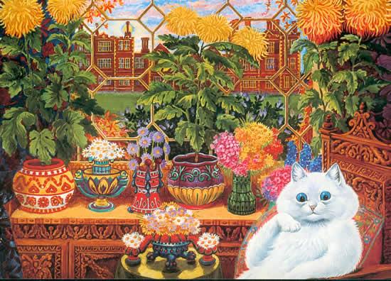 Louis Wain...et ses célèbres chats ! Botani10