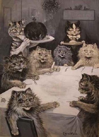 Louis Wain...et ses célèbres chats ! Catsta10