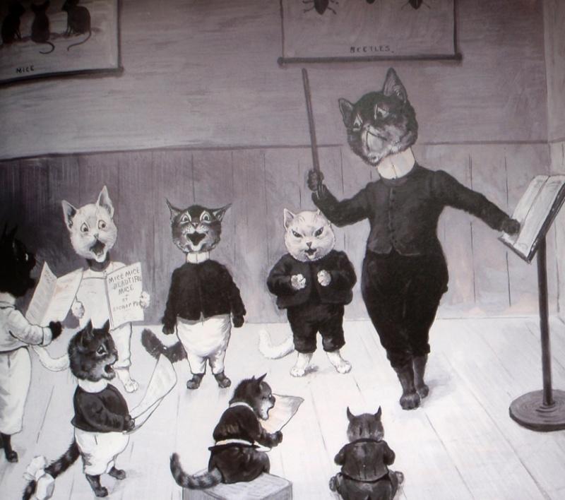 Louis Wain...et ses célèbres chats ! Choral10