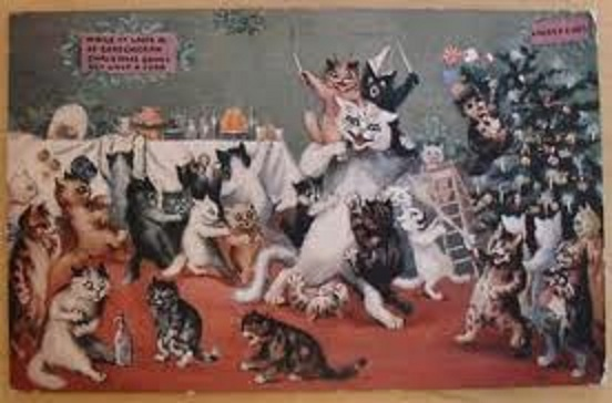 Louis Wain...et ses célèbres chats ! Images18